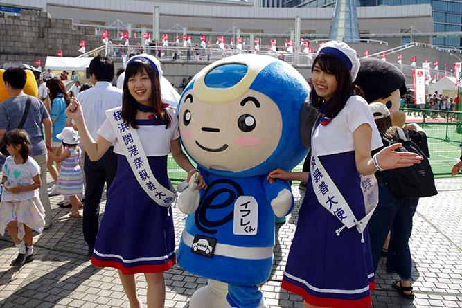 横浜開港祭ゆるキャラパレードに参加しました!