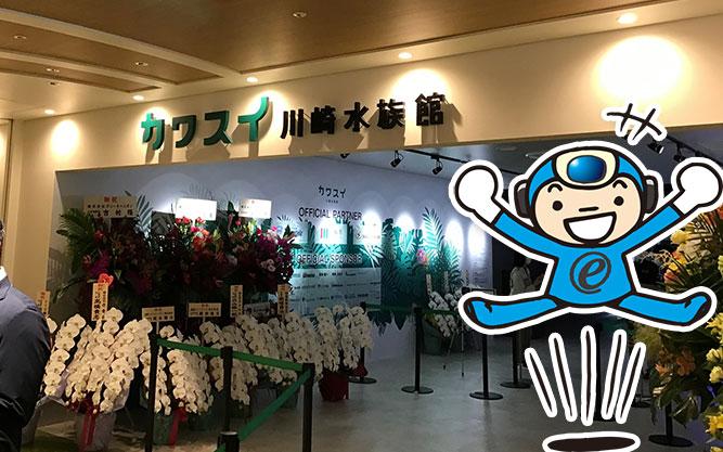 川崎水族館【カワスイ】のオフィシャルパートナーになりました!