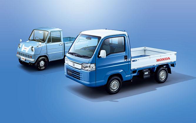 ACTY TRUCK 特別仕様車「スピリットカラースタイル」発売。