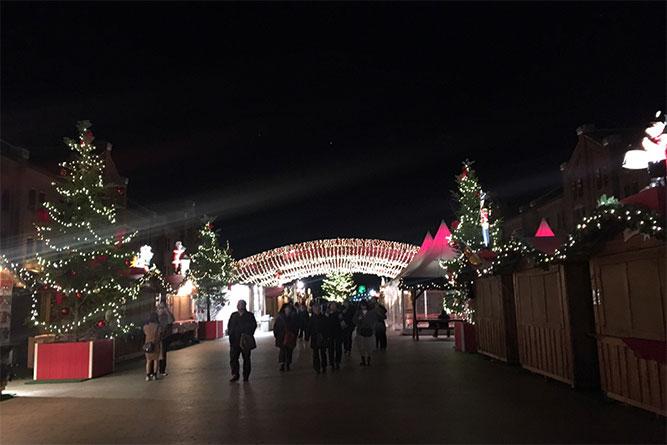 クリスマス仕様の赤レンガ倉庫へ!