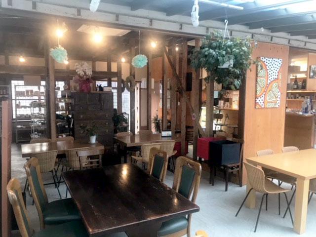 ご近所様紹介:古民家カフェ「ボン・ラヴィ」