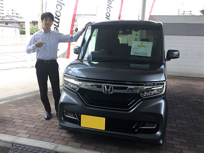N-BOX customのおすすめはG・Lターボ Honda SENSING!