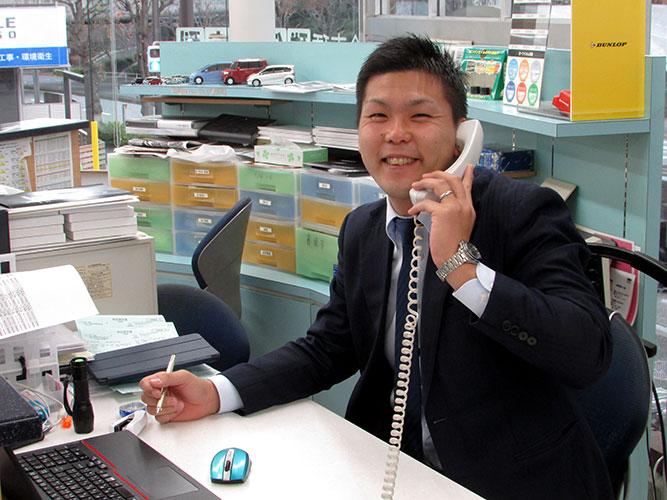 異動して参りました営業の長澤です!