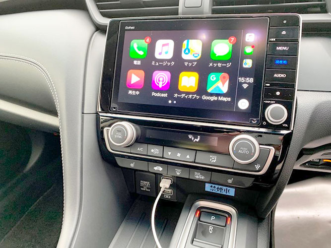 Apple CarPlayがとても便利!