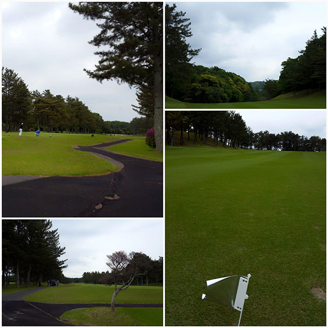 半年ぶりのゴルフコンペ。