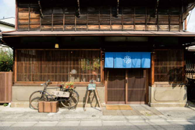 大田区の古民家カフェへ。