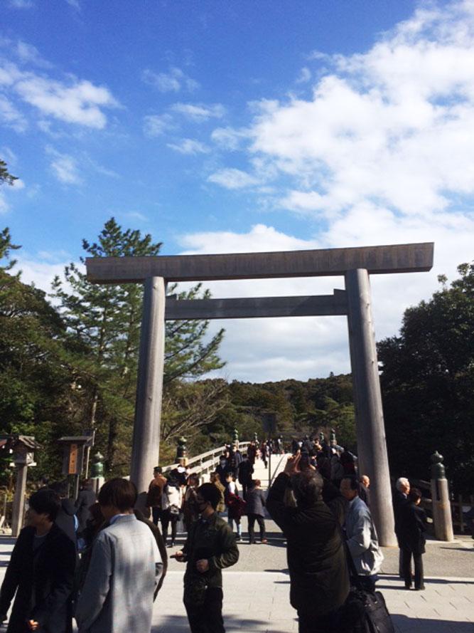 伊勢神宮へ行ってきました。