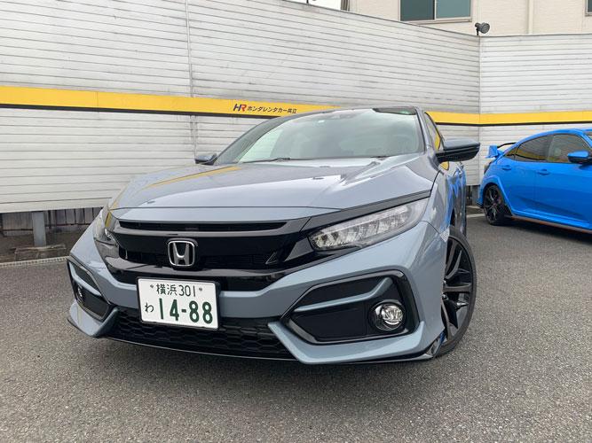 シビックハッチバック6速マニュアル車導入!